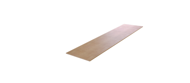 RACK IT 400KG MDF SHELF 1497x397mm