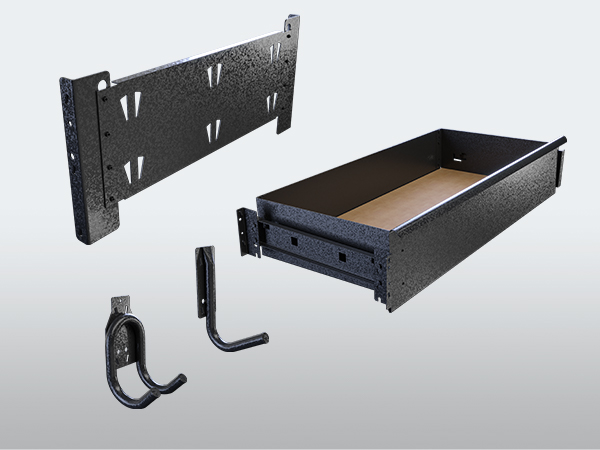 Rack It 400KG Easy to use accessories range