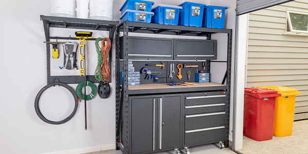 Garage Tool Storage System by Rack It